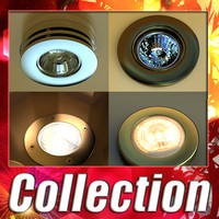4 Halogen Lamps Collection